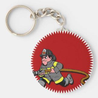 Fireman Key Ring