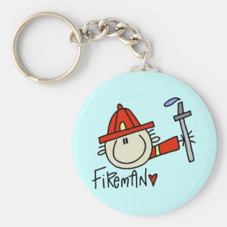 Fireman Keychain