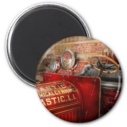 Fireman - Mastic chemical co Refrigerator Magnets