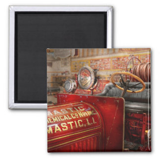 Fireman - Mastic chemical co Square Magnet