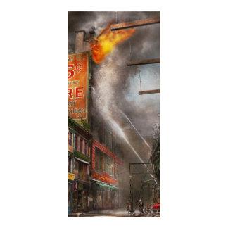 Fireman - New York NY - Show me a sign 1916 Full Colour Rack Card