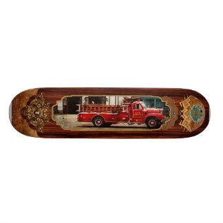 Fireman - Newark fire company Skate Board