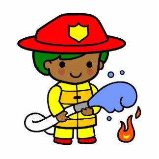 Fireman Photo Cutouts