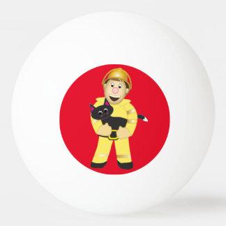 Fireman Ping Pong Ball