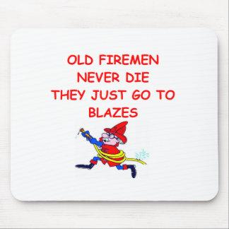 FIREMAN.png Mouse Pad