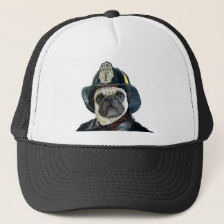 Fireman Pug hat
