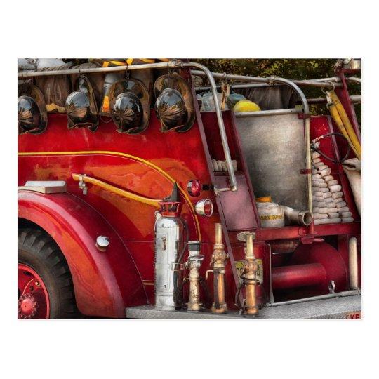 Fireman - Ready for a fire Postcard