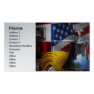 Fireman - Red Hot Pack Of Standard Business Cards