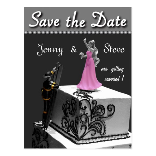 Fireman Save the Date Card
