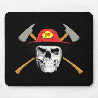Fireman Skull Mouse Mat