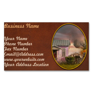 Fireman - Terry MT - Volunteer firefighters 1939 Magnetic Business Cards