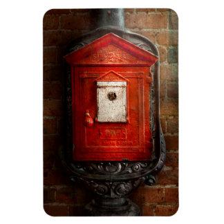 Fireman - The fire box Rectangular Photo Magnet