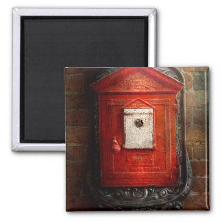 Fireman - The fire box Magnet