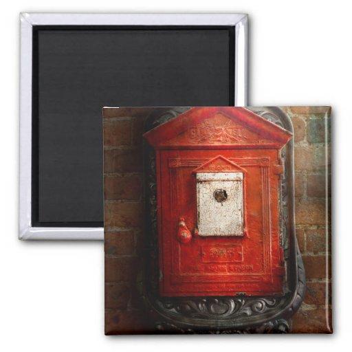 Fireman - The fire box Fridge Magnet