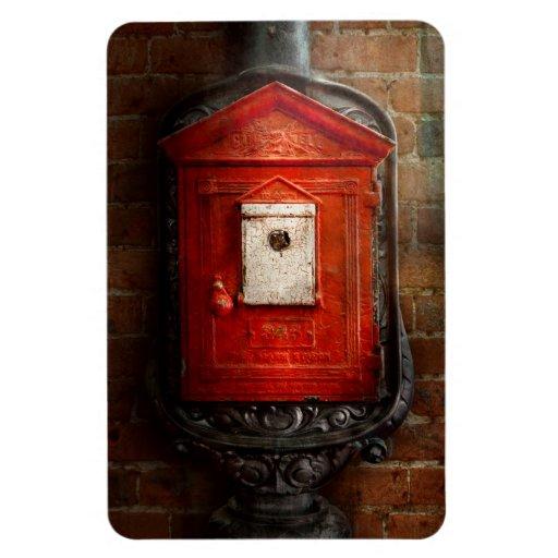 Fireman - The fire box Rectangle Magnet