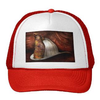 Fireman - The fire chief Mesh Hats