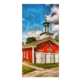 Fireman - The Fire house Picture Card
