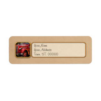 Fireman - The Garwood fire dept Return Address Label