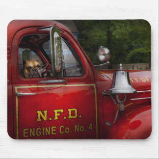 Fireman - This is my truck Mouse Pad