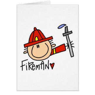 Fireman Tshirts and Gifts Card