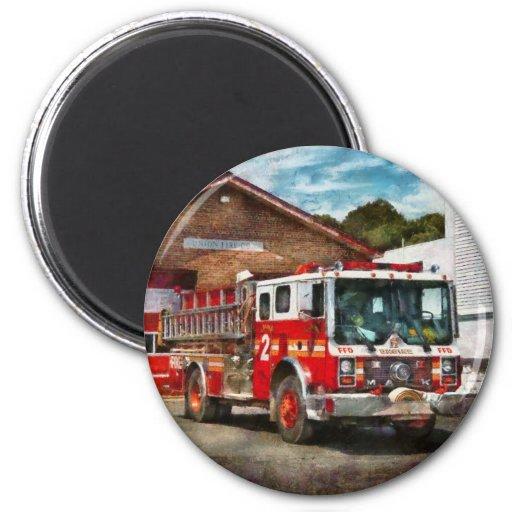 Fireman - Union Fire Company 1 Refrigerator Magnets