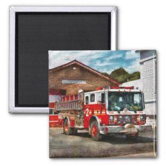 Fireman - Union Fire Company 1 Square Magnet