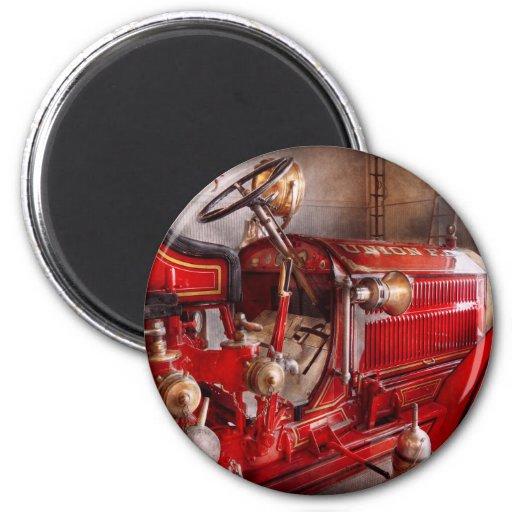 Fireman - Waiting for a call Refrigerator Magnet