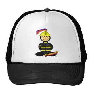 Fireman (with logos) cap