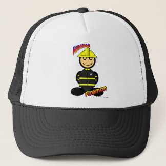 Fireman (with logos) trucker hat