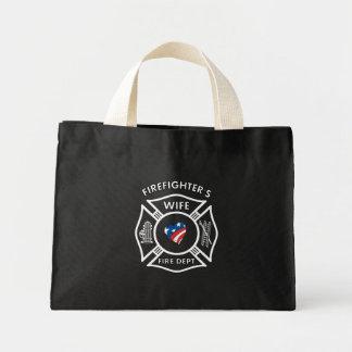 Fireman Wives USA Mini Tote Bag