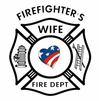 Fireman Wives USA Photo Sculpture Decoration