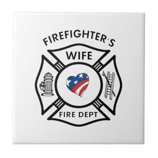 Fireman Wives USA Tiles