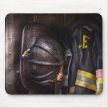Fireman - Worn and used Mousemats