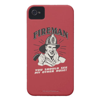 Fireman: You Should See My Other Hose iPhone 4 Case
