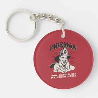 Fireman: You Should See My Other Hose Key Ring
