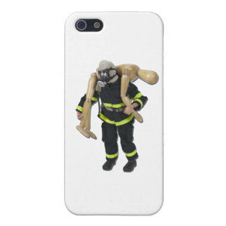 FiremanCarryPerson042911 Case For iPhone 5/5S