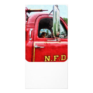 Fireman's Best Friend Photo Card