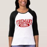 Fireman's Girl T Shirt
