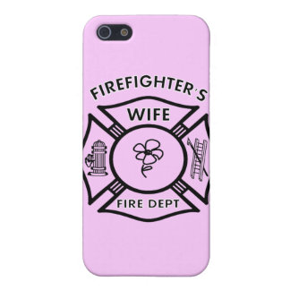 Fireman's Wife iPhone 5/5S Cases