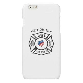 Fireman's Wife USA iPhone 6 Plus Case