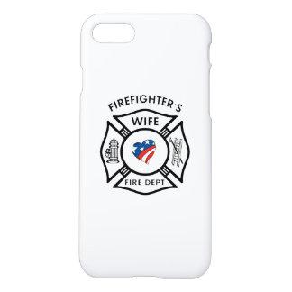 Fireman's Wife USA iPhone 7 Case