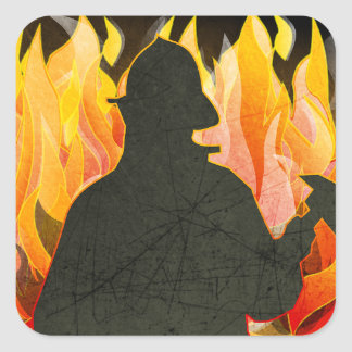 Firemen, Firewomen, Firefighter Stickers