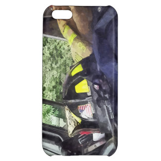 Firemen - Helmet Inside Cab of Fire Truck Cover For iPhone 5C