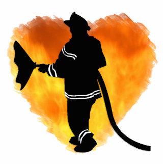 Firemen Love Flames Acrylic Cut Outs
