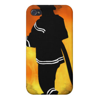 Firemen Love Flames Case For The iPhone 4