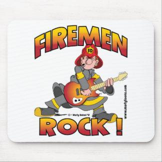 FIREMEN ROCK merch.png Mouse Pad