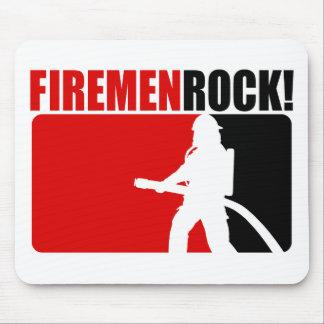 Firemen Rock Mouse Pads