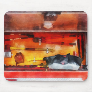 Firemen s Tools of the Trade Mousepads