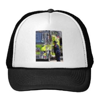 Firemen Talking Cap