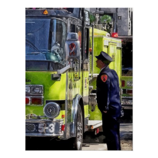 Firemen Talking Posters